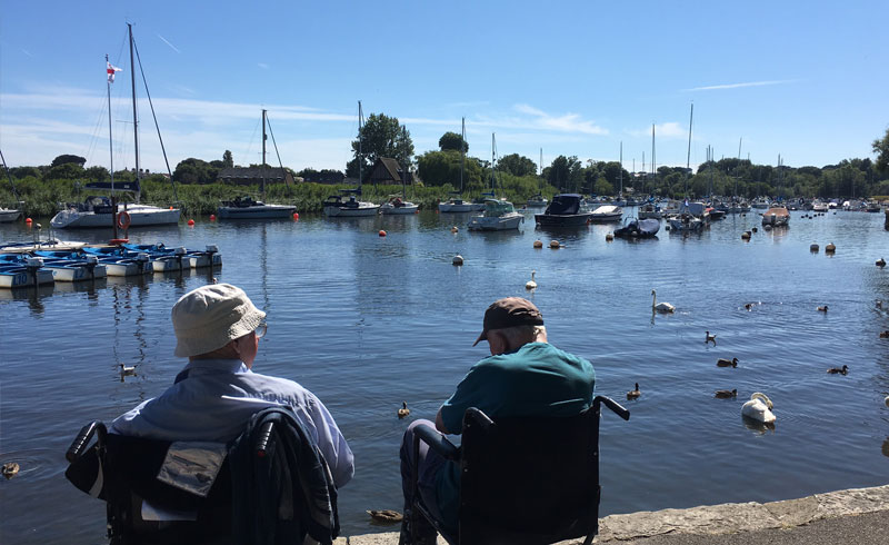 dementia day trip lake