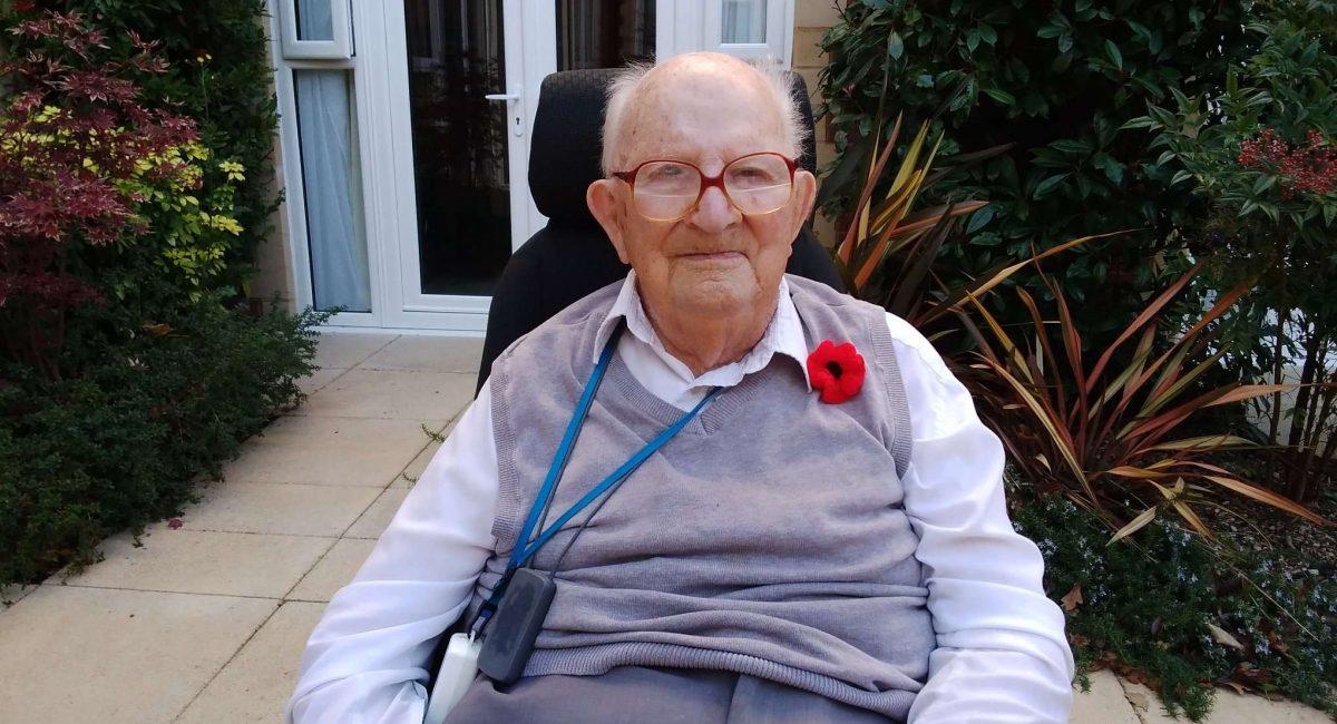D-Day veteran Geoffrey Scovell from Great Oaks in Bournemouth