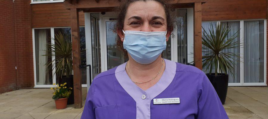 Encore Care Homes healthcare assistant
